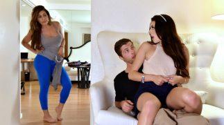 Fırsatçı Üvey Ağabey Çıtır Kızı Kucağına Oturttu